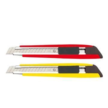 得力美工刀,中号 12mm  2030(12把/盒)