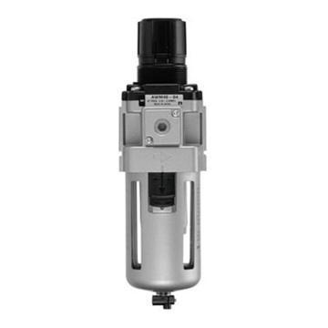 SMC 油雾分离器减压阀一体型, AWM系列,AWM30-03BE