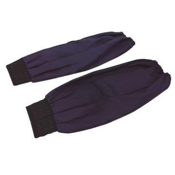 深蓝色涤卡布袖套,38cm,均码