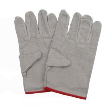 24道压线帆布手套,10副/包