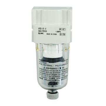 SMC 过滤器,AF10-M5-A