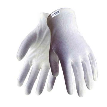 赛立特 C49100 白色棉毛布手套,均码/L,12副/打