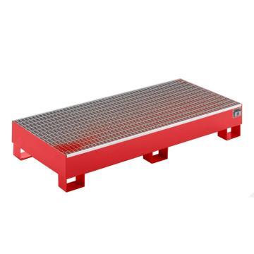 众御,IBC防钢制盛漏托盘,红色,1支架双吨桶,201215