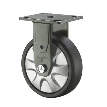 SUPO 07S款墨绿漆5寸固定黑色PAq轮 J07S-04-125-662