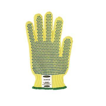 Ansell 70-340-9 防割手套,点塑手套,100%Kevlar纤维