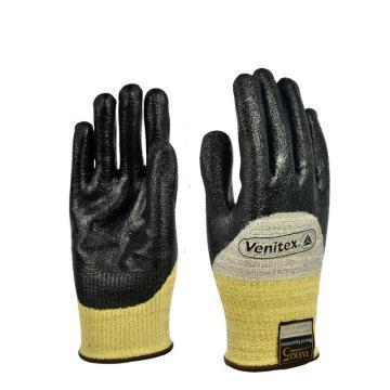 代尔塔 202017-9 TAEKI系列3/4丁腈涂层防切割手套