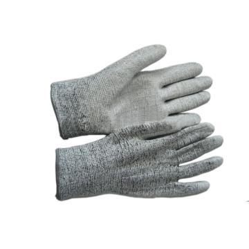 富力 5级防割手套,C506D,HPPE防切割手套 24cm