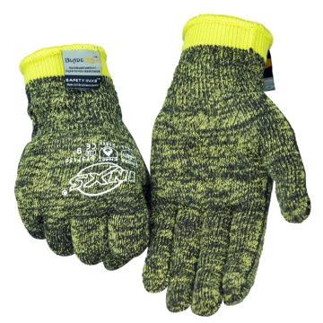 赛立特 5级防割手套,ST57130-8,10针BLADEX5+防切割、阻燃纤维针织手套