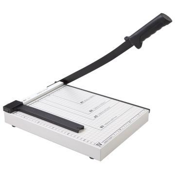 齐心 B2781 钢质切纸刀 A4 灰