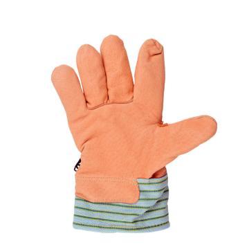 威特仕 保暖柔淡黄猪青皮手套,10-2289-XL