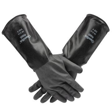Ansell 38-514-9 ChemTek粗糙表面丁基橡胶手套