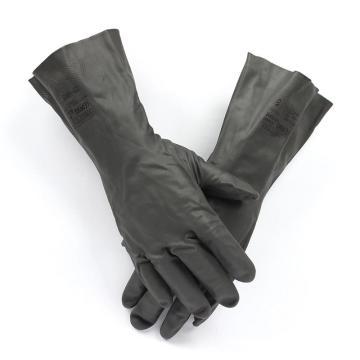 安思尔Ansell 氯丁防化手套, 29-865-9,Neoprene™氯丁橡胶手套 0.46mm厚 33cm长