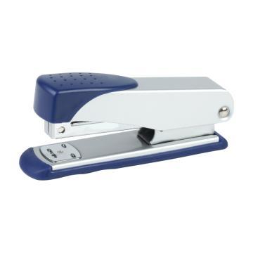 齐心 商务订书机,B3050 12#金属机 颜色随机 单位:个