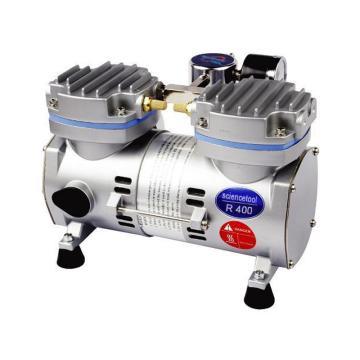 真空泵,无油,最大真空泵:-670mmHg,流速:34L/min,SCIENCETOOL,R400