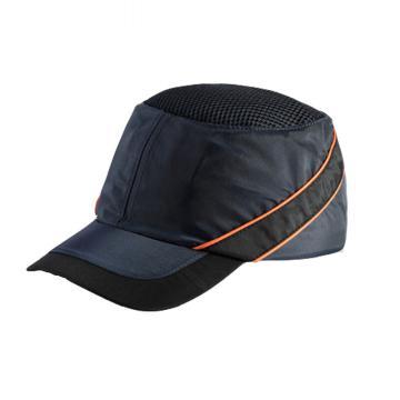 代尔塔102010 轻型防撞运动安全帽,藏青色,帽檐7cm