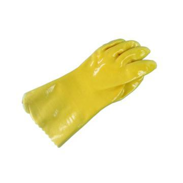 春蕾 PVC防化手套,浸塑手套 28cm