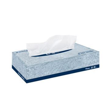 KLEENEX® 舒洁® 双层盒装面纸,80张/盒x72盒