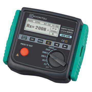 克列茨/KYORITSU 4106接地电阻测试仪