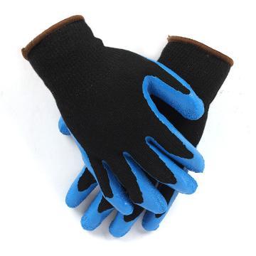 Ansell 48305-9 橡胶涂层手套,天然橡胶涂层通用经济型手套