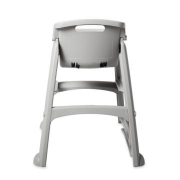 乐柏美儿童座椅连脚轮,白金色