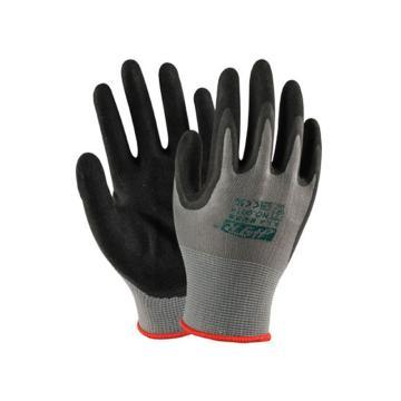 海太尔 0014-8 丁腈黑色涂层手套,230mm
