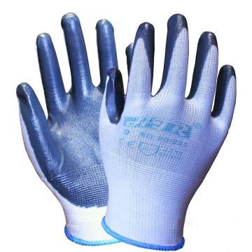 海太尔 80-221 丁腈手套,手掌丁腈涂层