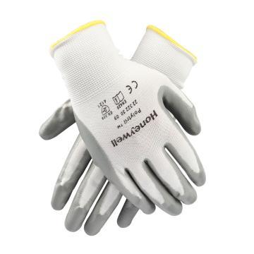 霍尼韦尔 2232230CN-8 白色尼龙灰色丁腈手套,10副/包