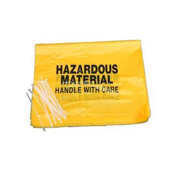 化工实验室专用危害品垃圾防化垃圾袋S7649,76.5*49CM
