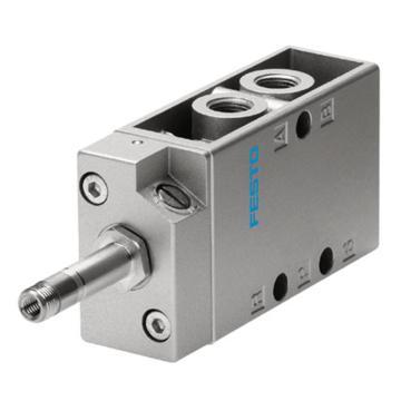 费斯托FESTO 电磁阀,2位5通单电控,不含线圈,MFH-5-1/8,9982