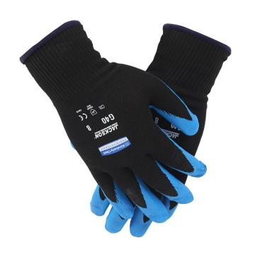 金佰利 40226A-M G40 蓝黑发泡丁腈涂层手套,12副/袋,5袋/箱