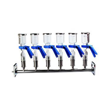 六联过滤器,玻璃滤杯滤头,1套