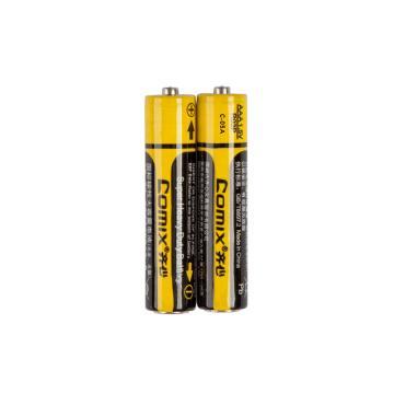 齐心 C-05A 碳性干电池 5# 铝膜 黄+黑