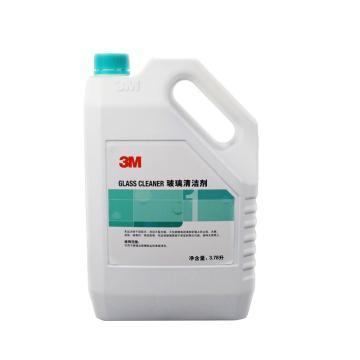 3M 玻璃清洁剂,1加仑/桶