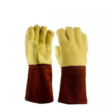 代尔塔DELTAPLUS 隔热手套,203007,防350度高温防割手套