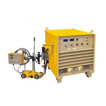 沪工可控硅式直流埋弧焊机,MZ-1-1000KE,风冷配小车