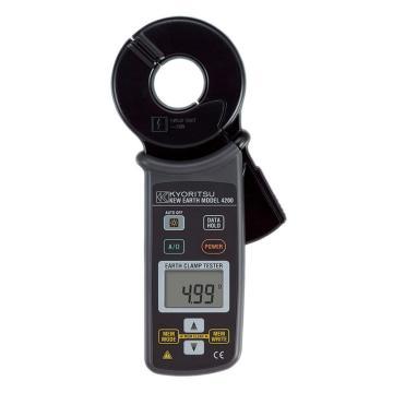 克列茨/KYORITSU 4200数字式钳形接地电阻仪