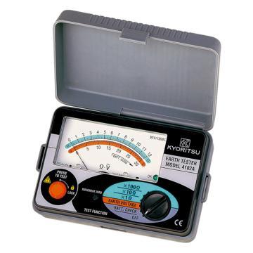 克列茨/KYORITSU 接地电阻测试仪,0-30V,4102AH