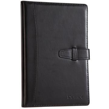 齐心 皮面笔记本18K,C5807 114页 黑 单位:本