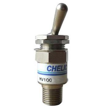 气立可CHELIC 手动阀,接头型,2口凸轮摇杆型,MV-100-2V