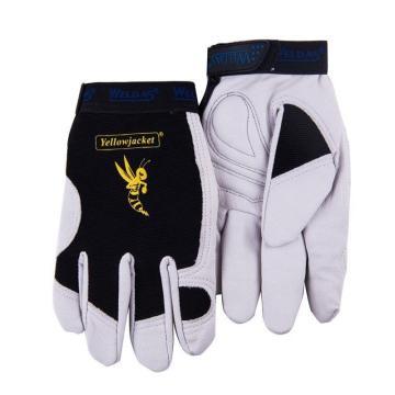威特仕 半皮手套,10-2670-L,机械师手套