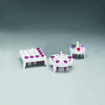 NALGENE漂浮式微管架,聚丙烯,方形,白色