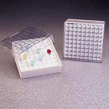 NALGENE可容纳81个管的微量离心管盒,聚碳酸酯,试管容量0.2ml