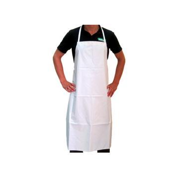AMMEX FA 白色涤纶布围裙