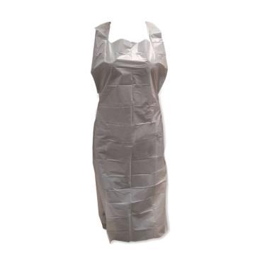 爱马斯AMMEX 防化围裙,PA1.0C-L,白色PE围裙 71x136cm