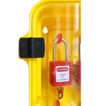 十锁锁具站,标配10把挂锁,3把六联锁具,12张警示吊牌,288*75*534.5mm,S51B