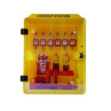 塑料组合锁具站(空置) 340*160*415mm,SL1