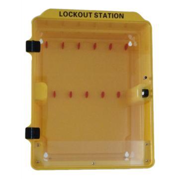 塑料组合锁具站(空置) 340*160*415mm,SL2