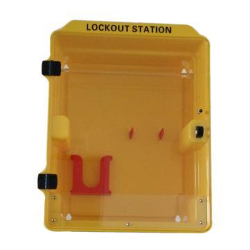 塑料组合锁具站(空置) 340*160*415mm,SL3