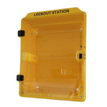 塑料组合锁具站(空置) 340*160*415mm,SL4