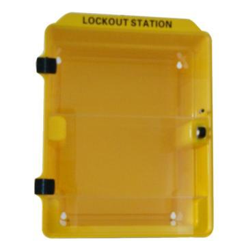 塑料组合锁具站(空置) 340*160*415mm,SL5